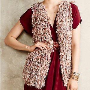 Anthropologie Sweaters - Anthropologie Sherbet Loop Handknit Vest Textured